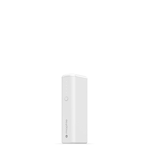mophie Power Boost Mini Universal External Battery - 1 Charge (2,600mAh ) - White by mophie