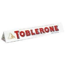 Toblerone Bar - Swiss White Chocolate with Honey & Almond Nougat Bar (Pack of 3 Bars Each 3.5 oz)