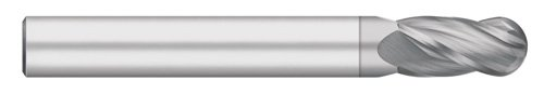Titan TC96525 Solid Carbide End Mill 30 degree Helix 3//8 Shank Diameter Long Length TiCN Coated 1 Cutting Length 3//8 Cutting Diameter 3//8 Shank Diameter 4 Overall Length Titan USA 3//8 Cutting Diameter Ball Nose 4 Flute 4 Overall Length