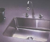 Just Bar Sink Undermount Single Bowl Stainless Steel Sink