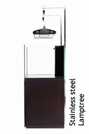 CAD Lights Artisan series Adjustable Lamp tree-100% Stainless steel material by Cad Lights