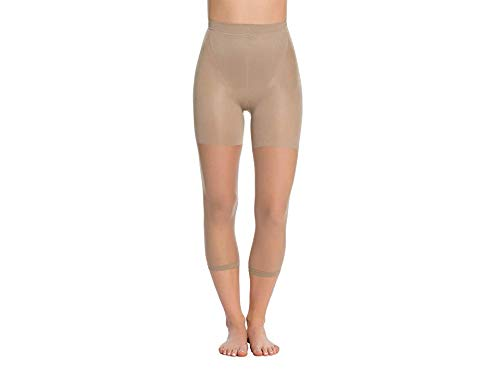 (SPANX In-Power Line Footless Pantyhose Hosiery Nude Size B)