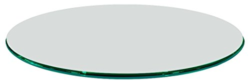 Fab Glass and Mirror 1 2 Thick Ogee Tempered Glass Round Glass Table Top 20