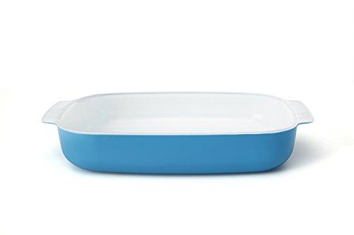 Creo SmartGlass Cookware, 3-quart Baking Dish, Mediterranean Blue ()