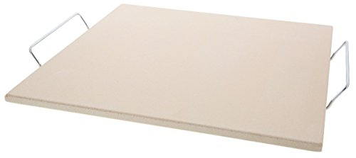 Pizza Stone - Juvale Ceramic Pizza Grill Squared Stone - 15 Inch