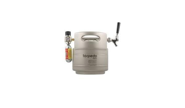 Torpedo Keg - Bomba portátil para fiesta, 3,81 l: Amazon.es: Amazon.es
