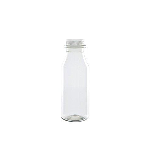 BIOZOYG Botellas vacías de plástico embotellado 50% Pet Reciclado ...