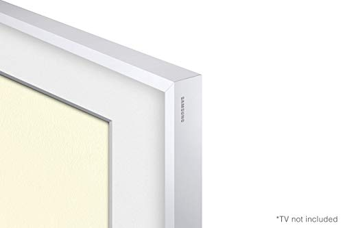 "Samsung QN43LS03TA 43"" Frame QLED Smart 4K Ultra High Definition TV with a Samsung VG-SCFT43WT 43"" White Customizable Bezel for The Frame TV (2020)"