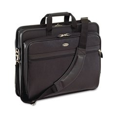 Targus Laptop Case, Leather, 17-1/2 x 6-1/2 x 13-1/2, Black
