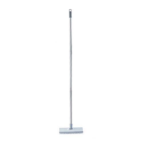 Monkys Bezems 2 in 1 Vloer Scrub Borstel Vloer Squeegee Push Bezem Reiniging Vloer Lange Handvat Plastic Toilet Keuken…