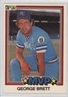 1981 Donruss Card (George Brett (Baseball Card) 1981 Donruss)