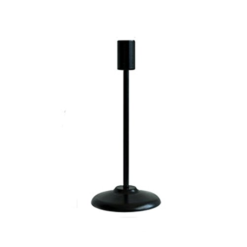 JIAZHU Candlestick Stand, Wedding/Dinning Table Decorative Candle Holder, Modern Taper Candle Holders Black Single-head Candle Holder Ornaments by JIAZHU