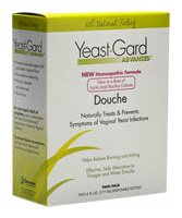 YeastGard Advanced Homeopathic Douche, 4.5-Ounce Bottles in 2-Count Box (Pack of 3)