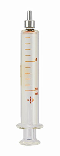 TRUTH Glass Reusable Syringe graduation product image