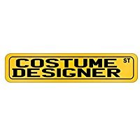 Wall Street Costume Designer (Costume Designer Street - Occupations - Street Sign [ Decorative Crossing Sign Wall Plaque ])