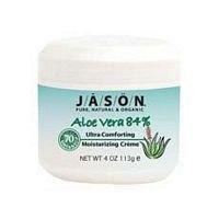 (Jason Soothing Aloe Vera 84% Moisturizing Creme 4 oz (Pack of 6)    )