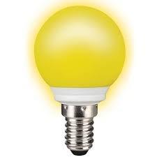 bombilla LED color amarillo, ...