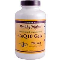 Healthy Origins, CoQ10 GELS 200 MG - 150 SOFTGEL