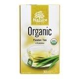 NATURE GREEN ORGANIC PANDAN LEAVES TEA 1G. PACK 30SACHETS