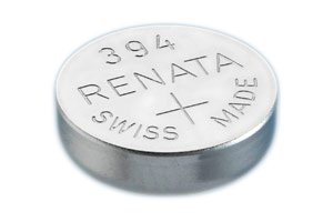 #394 Renata Watch Batteries 10Pcs ()