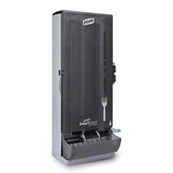 Zoom Supply Dixie SSFD120 Smartstock Dispenser, Ultra Sanitary Dixie SmartStock Fork Dispenser -- Stop Using Disgusting Cutlery Bins Where Everyone's Hands Touch (Dixie Supplies)