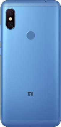 MobiSpare® 100% Orignal Back Panel/Back Housing Body/Back Door Compatible for Redmi Note 6 Pro (Blue)