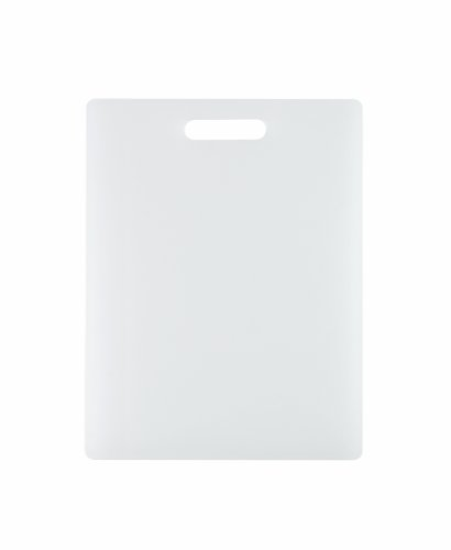 (Dexas NSF Polysafe Cutting Board with Handle, 11 by 14.5 inches, White)