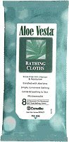 Convatec Aloe Vesta Bathing Cloths - 8