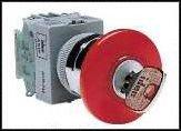 Pushlock Key Reset 600 V Screw DPST-1NO Emergency Stop Switch 10 A SPST-NC 220 V