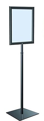 Adjustable Pedestal Sign Holder Floor Stand, 8 1/2