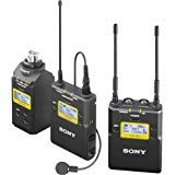 Sony UWP-D16 Integrated Digital Wireless Lavalier Microphone Package, Includes UTX-B03 Bodypack Transmitter, URX-P03 Receiver and UTX-P03 Plug-On Transmitter, UHF Channels 25/36: 536 to -