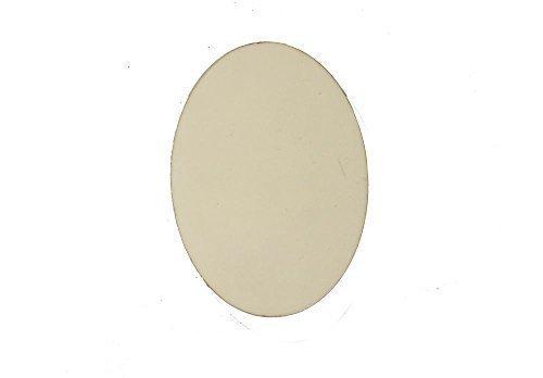 Big Blank MDF Oval Shape Fridge Note Magnet for Heat Press Sublimation 102290 UKCutter