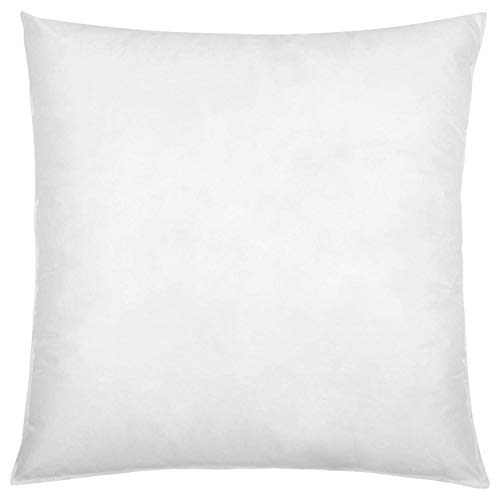 IZO All Supply Square Sham Stuffer Hypo-Allergenic Poly Pillow Form Insert, 18'' L x 18'' W (4 Pack) by IZO All Supply
