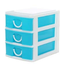 Candy Organizer - Colorful Drawer Style Storage Box Make Up Jewelry Collecting Boxes Children Studying Case Snack - Wall Candy Organizer Storage Child Remotes Plastic