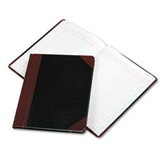 * Columnar Book, Two Column, Black Cover, 150 Pages, 10 3/8 x 8 1/8 *