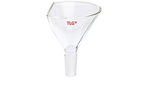 CHEM SCIENCE INC CS-F0189100 Funnel, Powder, 60° Side Angle, Top Dia 100 mm, 19/22 Joint