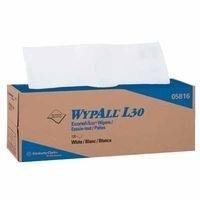 WYPALL L30 ECONOMIZER WIPER WHT POP-UP 120 PER