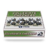 NCAA BYU Cougars Miniature Helmets Checker Set ()