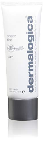 Dermalogica Sheer Tint SPF 20 Face Moisturiser, Dark, 1.3 Ounce