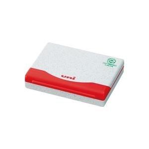 (業務用100セット) 三菱鉛筆 スタンプ台1号 HSP1F.15 赤 生活用品 インテリア 雑貨 文具 オフィス用品 印鑑 スタンプ 朱肉 top1-ds-1731228-ah [簡素パッケージ品] B06XQVGWBP