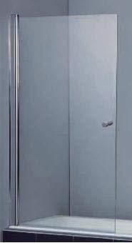 mampara bañera s-2807-10c 100x150x0.6 cm con tratamiento easy ...