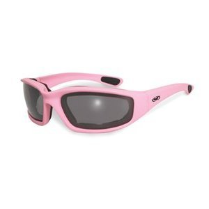 Fight Back Light Pink Smoke Biker Babe Chick Motorcycle Glasses Sunglasses Global Vision Eyewear will donate a portion of the sales for all Fight Back Glasses to the National Breast - Breast Sunglasses Cancer