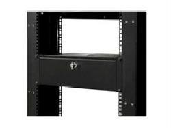 ADD A RUGGED 3U STORAGE DRAWER TO ANY STANDARD 19IN SERVER RACK OR CABINET - RAC Electronics Computer Networking