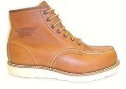 Red Wing Heritage 875 6-Inch Moc Toe Men's Boots 00875 Oro Legacy 7.5EE M US - Red Wing Boots 875