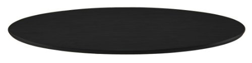 DHP Bentwood Round Dining Table Top, Contemporary Design for your Kitchen, Legs sold separately - Black