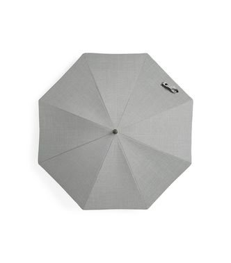 Stokke Stroller Parasol with Black Frame, Grey Melange