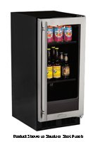 """Marvel ML15BCP2RP Beverage Center Panel Ready Overlay with Right Side Hinge, 15"""", Black"""