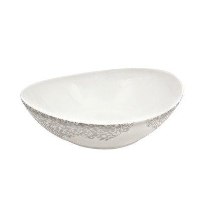 Monsoon Filigree Serving Bowl - Denby Sugar Porcelain Bowl