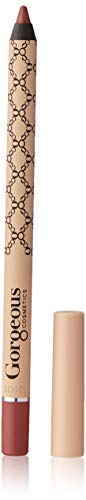 (Gorgeous Cosmetics Lip Liner Pencil, Gel Formula, Shade Barely)
