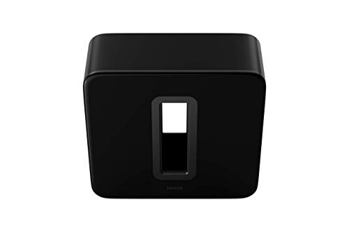 - Sonos Sub - The Wireless Subwoofer for Deep Bass - Black